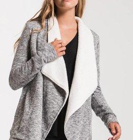 Sherpa Sweater Cardigan