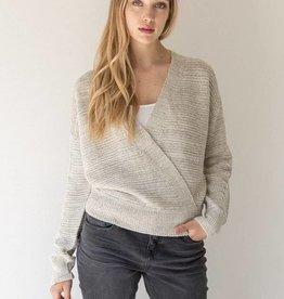 Surplice Speckled Sweater