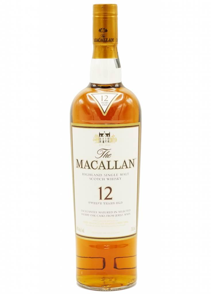 macallan 12 year single highland single scotch convive