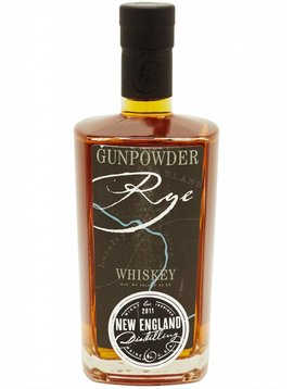 New England Distillery Gunpowder Rye Whiskey Portland, Maine