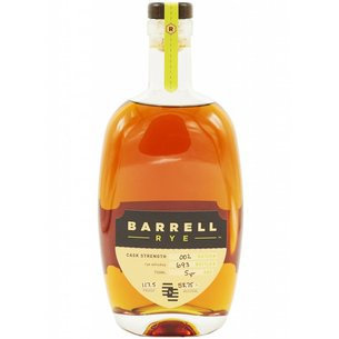 Barrell Craft Spirit Barrell Craft Spirits Rye #2 117.5 proof, Tennessee