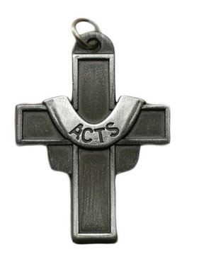 ACTS Pewter Cross