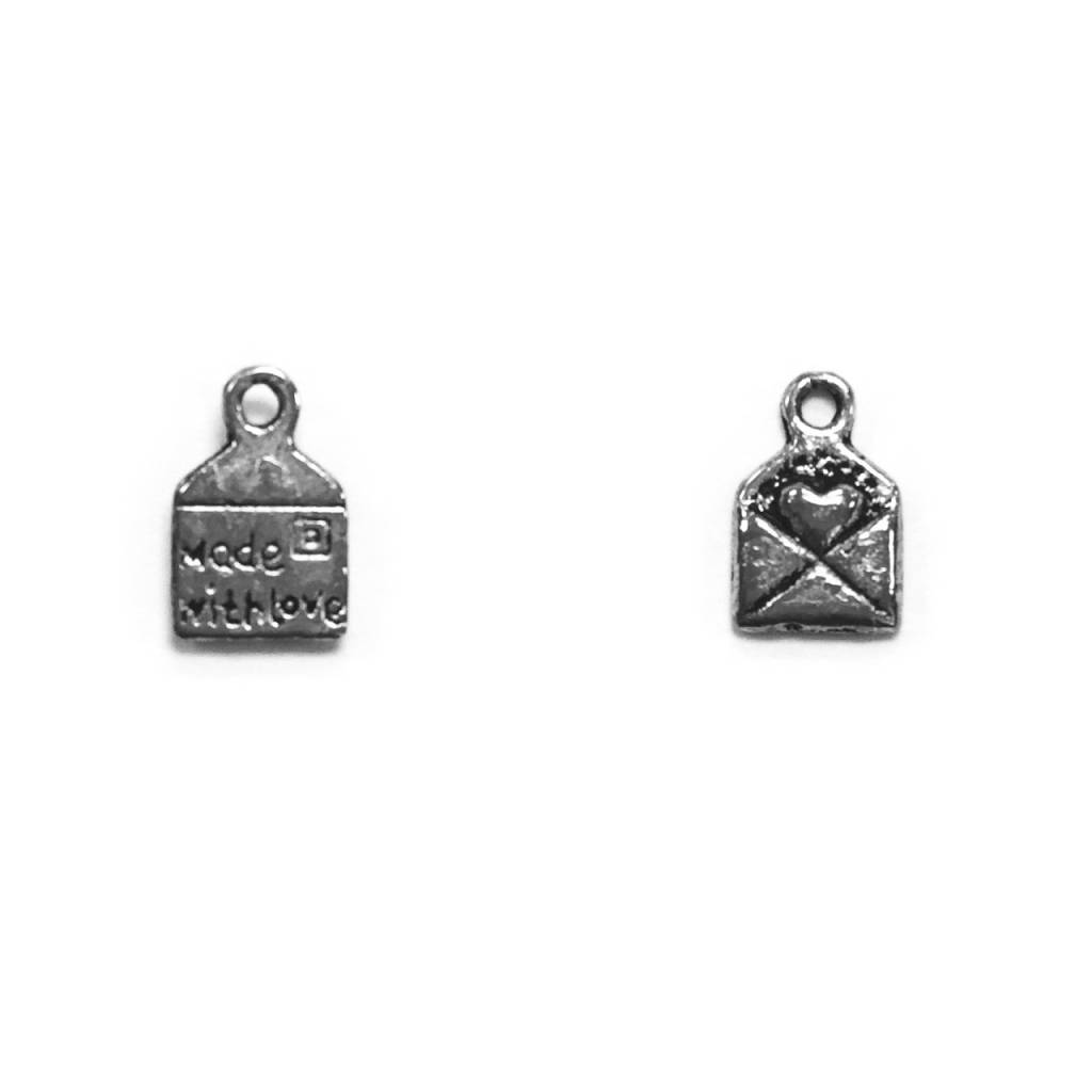 Small Love Letter Metal Charm