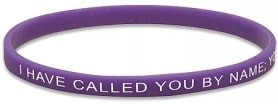 I Have Called You By Name Silicone Bracelet