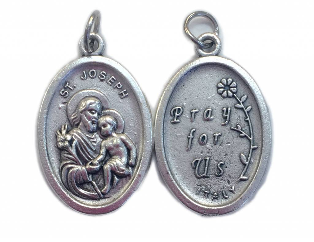 St. Joseph Oxidized Medal