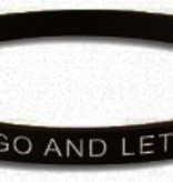 Let Go and Let God Silicone Bracelet