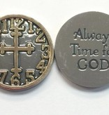 Always Time for God Pocket Token
