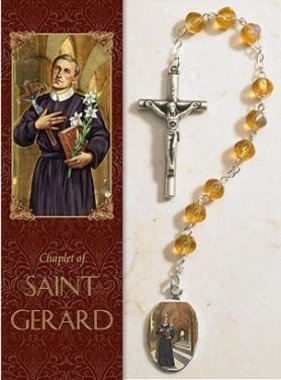 St. Gerard Chaplet w/Rosary