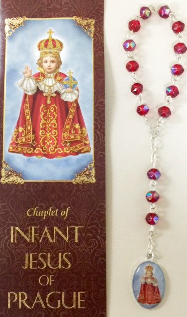 Infant Jesus of Prague Chaplet w/Rosary