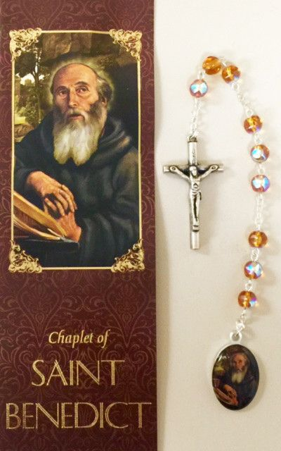 St. Benedict Chaplet w/Rosary