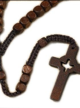 Wooden Holy Spirit Rosary