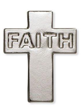Faith Cross Lapel Pin