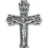 Fancy Scroll Crucifix Pendant