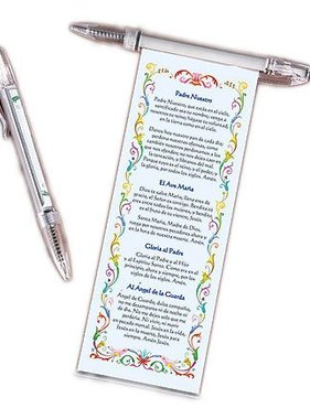 Spanish Catholic Prayer Pen