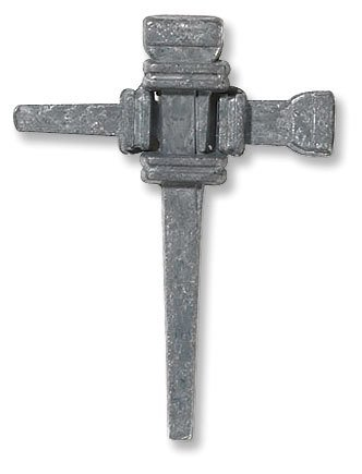 Carpenter's Nail Cross Lapel Pin
