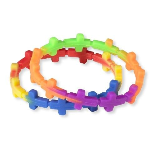 Silicone Cross Bracelet