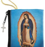 Our Lady of Guadalupe Zipper Rosary Bag