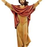 "8"" Risen Christ Wall Plaque"