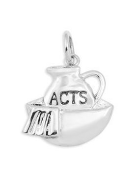 ACTS SS Footwashing Charm