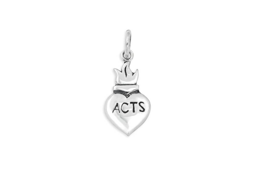 ACTS Medium Sacred Heart Pendant