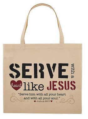 Serve Like Jesus Tote Bag