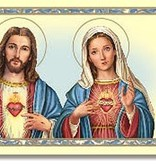 Sacred Hearts Prayer Card