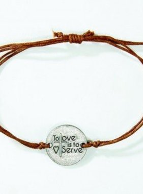 To Love is to Serve Bracelet