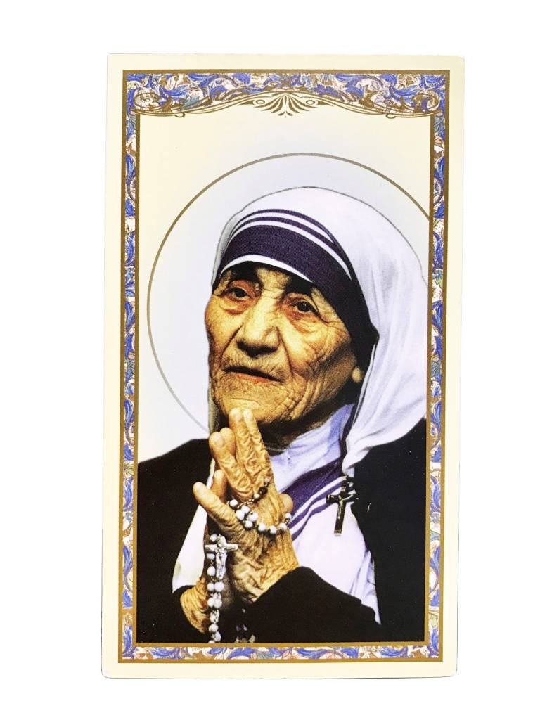 Daily Prayer of Saint Teresa of Calcutta