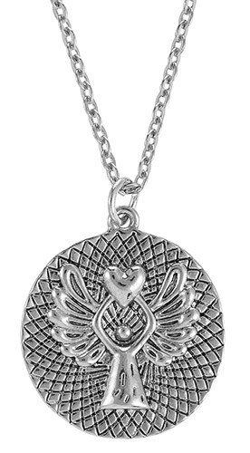 Guardian Angel Pendant w/prayer