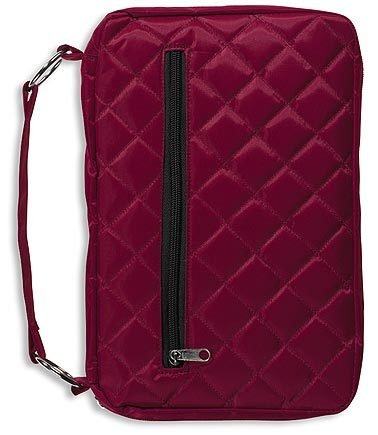 Burgandy Quilted Bible Cover