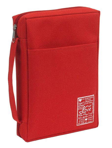 Love Bible Cover (Red)