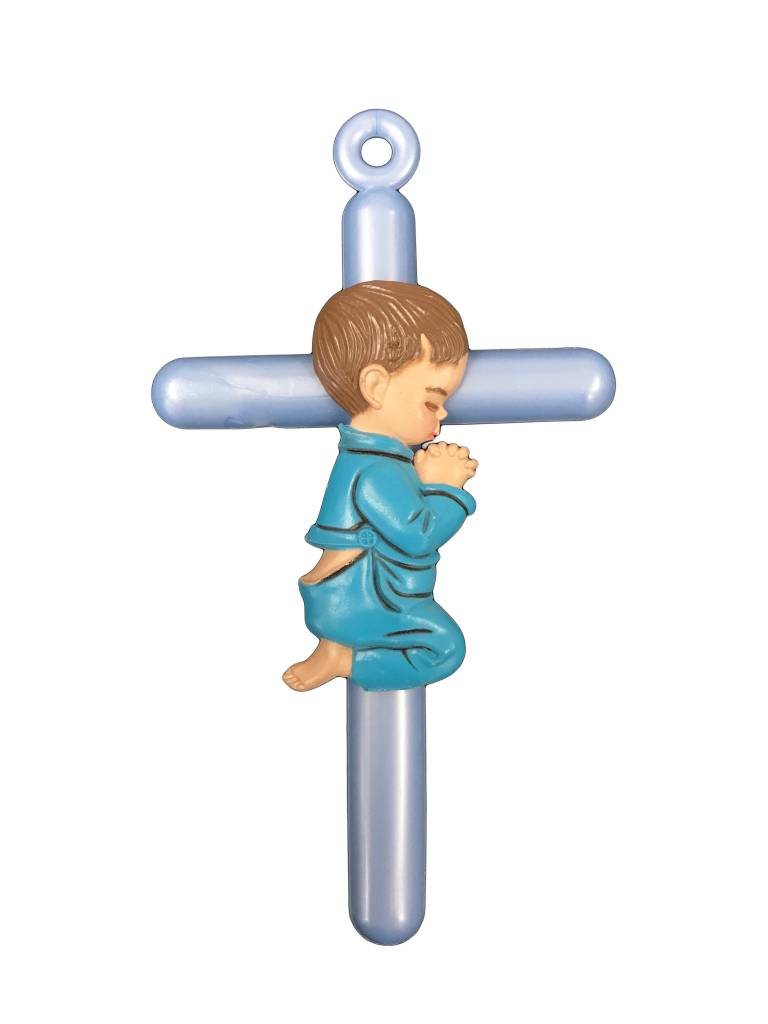 Praying Boy Wall Cross