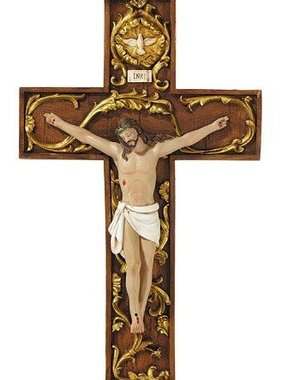 Holy Spirit Wall Crucifix