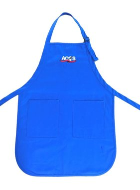ACTS Full Length Apron Royal Blue