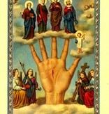 Oracion al Brazo Poderoso Holy Card (Spanish)