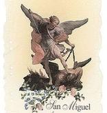 San Miguel Archangel Tarjeta De Oracion