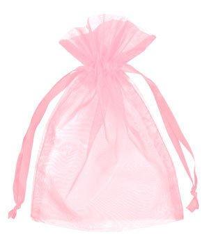 Small Baby Pink Organza