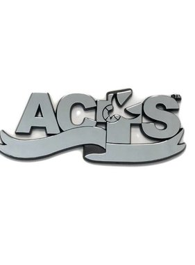 ACTS Ribbon Logo Chrome Auto Decal