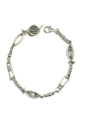 Combo Link SS Bracelet