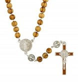 St. Benedict Wood Rosary