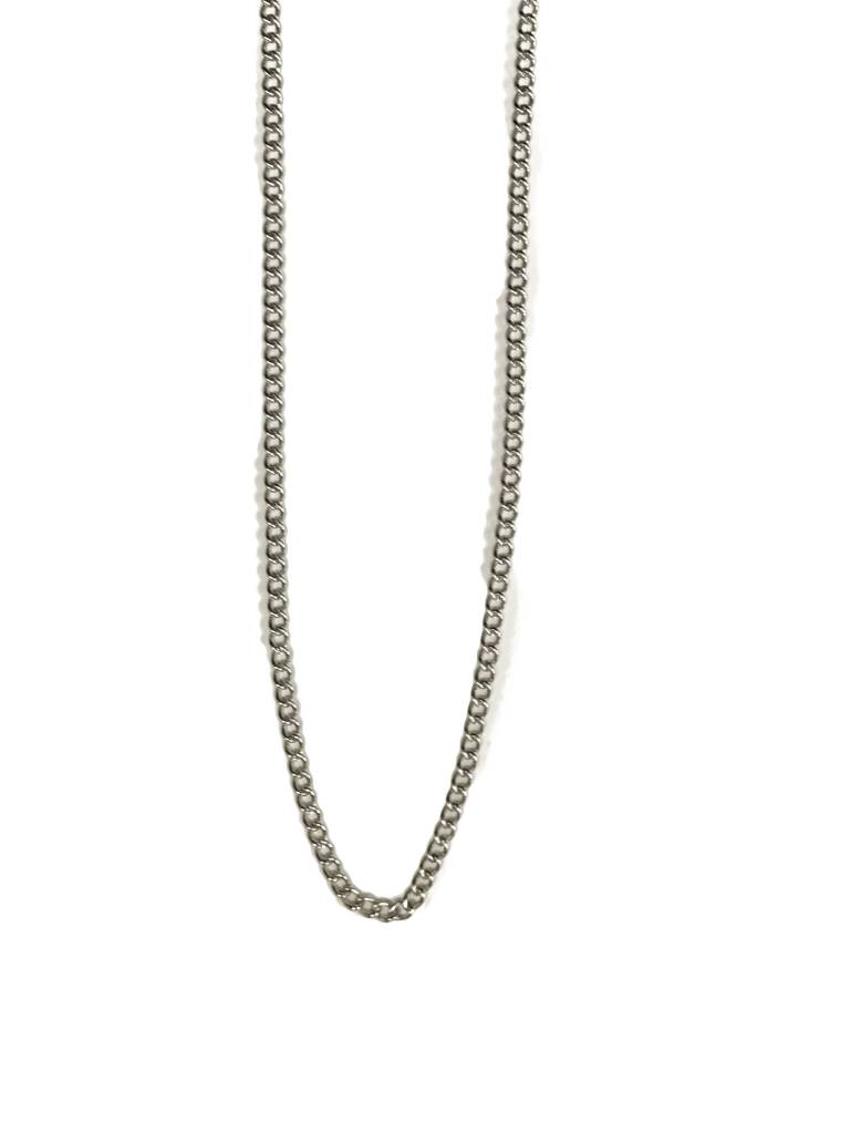 "18"" Stainless Steel Chain w/clasp"