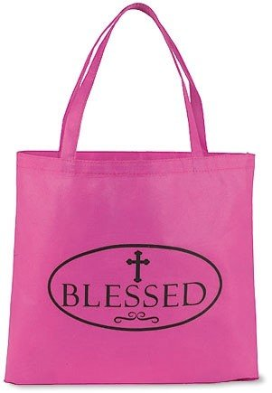 Blessed Pink Tote Bag