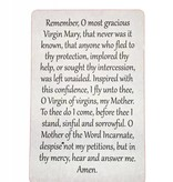 Miraculous Mother Wallet Prayer Card
