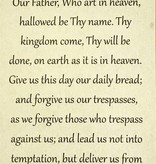Our Father Wallet Prayer Card