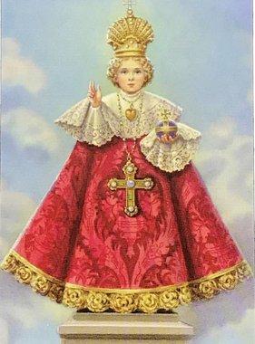 The Infant of Prague Wallet Prayer Card