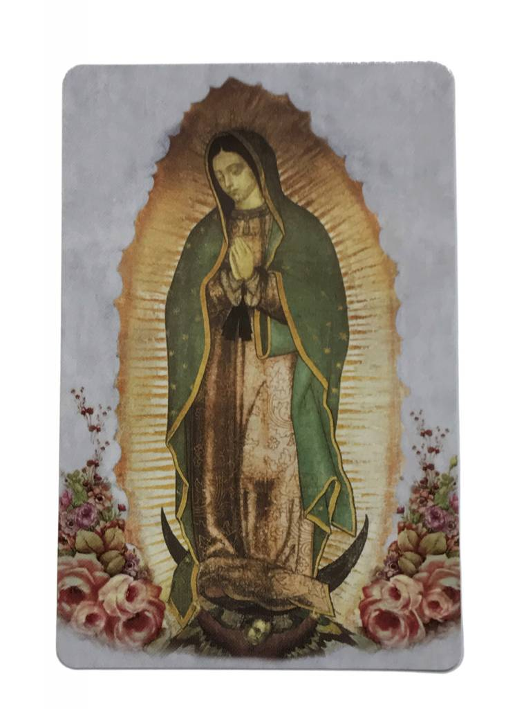 Our Lady of Guadalupe Wallet Prayer Card