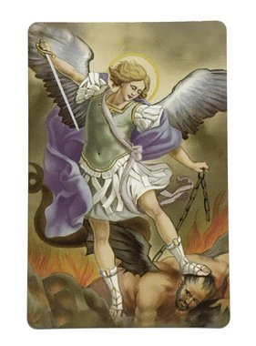 St Michael Wallet Prayer Card