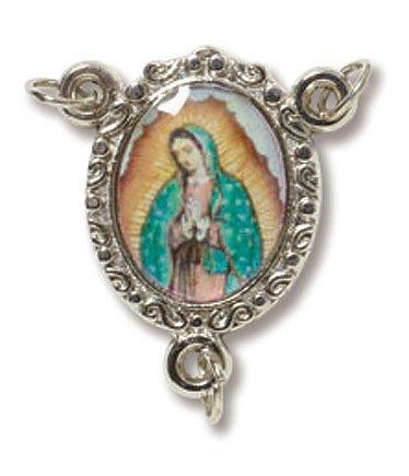 Divine Mercy Epoxy Rosary Centerpiece