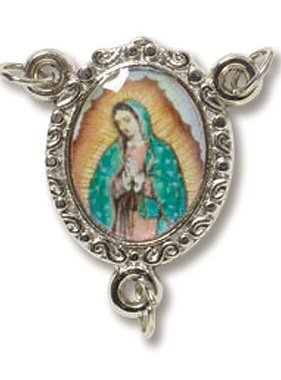 Our Lady of Guadalupe Epoxy Rosary Centerpiece