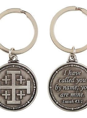 I Have Called You By Name Keychain (Isaiah 43:1)